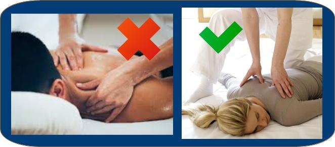 shiatsu non è un massaggio olio nudi frizioni pressioni futon lettino