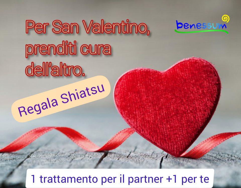 idea regalo San Valentino Shiatsu